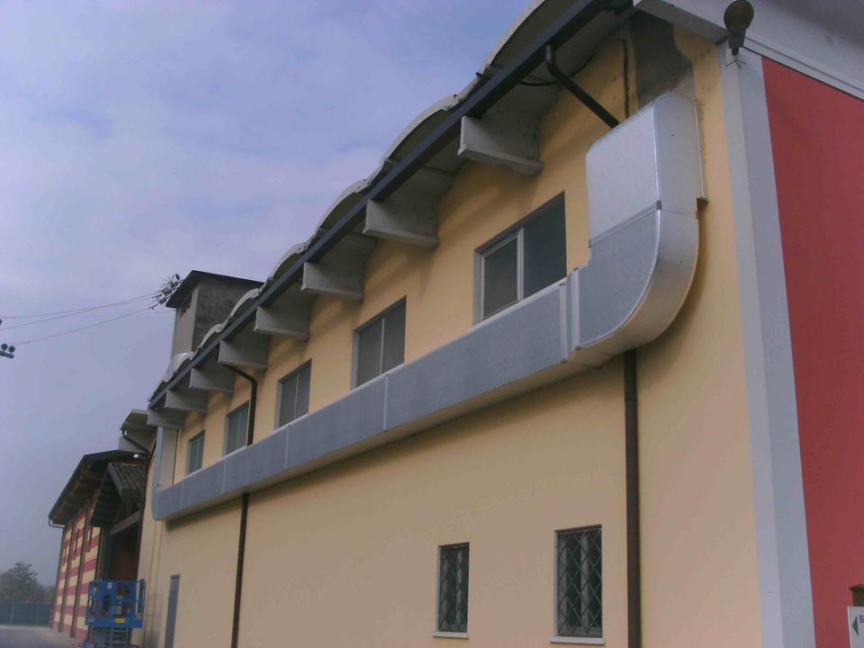 Impianto condizionamento capannone