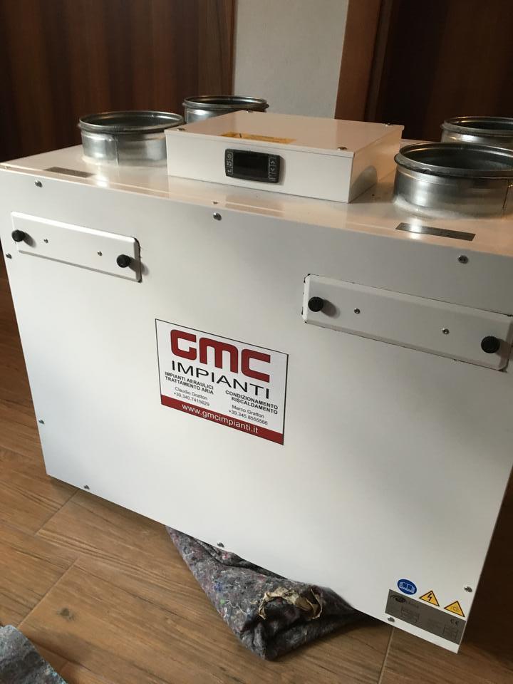 Impianto VMC