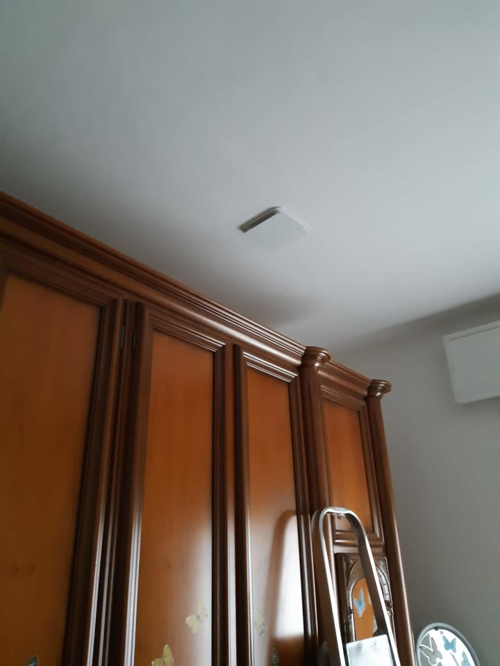 Impianto di VMC in una casa abitata utilizzando il sottotetto