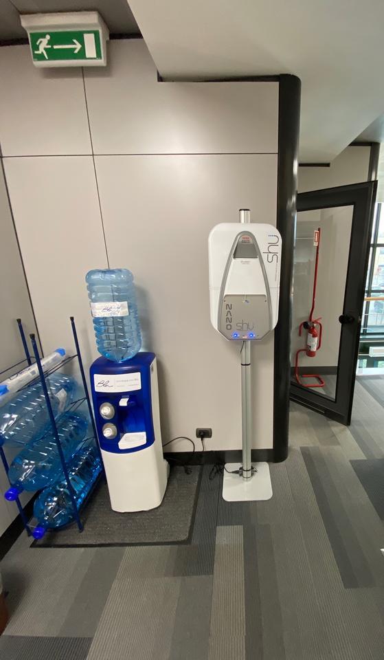 Sanificazione ambiente e superfici